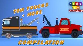 Tow Truck   Cartoon For Kids   Children