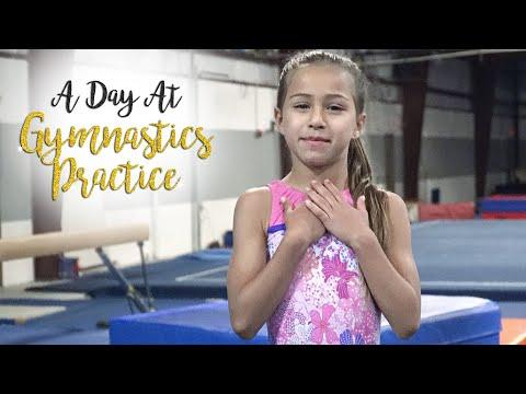 A Day At Gymnastics Practice  Sariah SGG