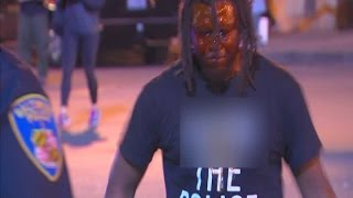Man pepper sprayed after daring police to arrest him in Baltimore
