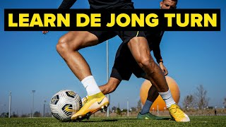 Learn Frenkie De Jong's Signature move