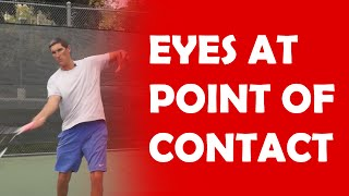 Eyes At Point Of Contact | CONTACT POINT TIPS