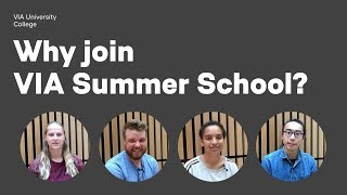 Why join VIA Summer School?