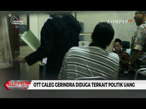 Caleg Gerindra di Kabupaten Lamongan Terjaring OTT Diduga Terkait Politik Uang