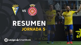Highlights Cadiz CF vs Girona FC (2-0)