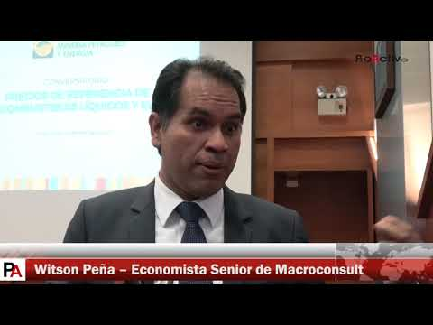 Declaraciones de Witson Peña, Economista Senior de Macroconsult