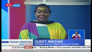 Guest Anchor: Emmy Kosgei talks of her journey in music