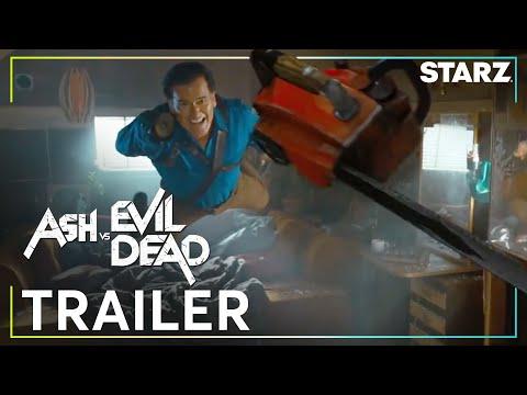 Video trailer för Ash vs Evil Dead | Official Trailer | STARZ