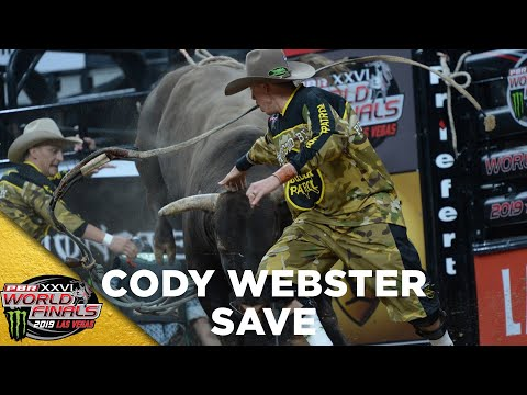 WORLD FINALS: Cody Webster THREADS THE NEEDLE to Save Stetson Lawrence in Round 3 | 2019