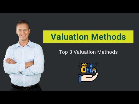 Valuation Methods | Top 3 Valuation Methods