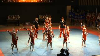 preview picture of video 'Чемпионат Караганды 2014 - Tetcheer - Cheer kids / Чир дети'