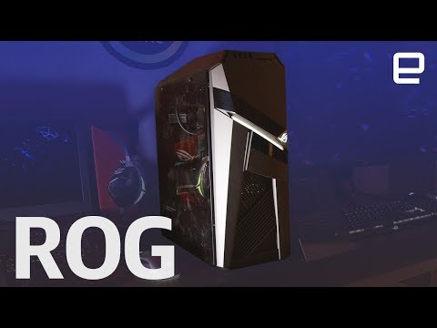 ROG Strix GL12 hands-on at CES 2018