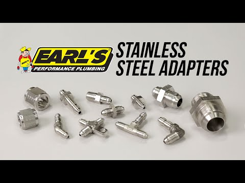 Earl's Stainless Steel Adapters