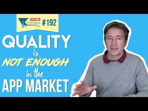 📱 Quality is Not Enough in the App Market