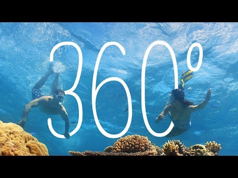 360: Vlasoff Cay, Great Barrier Reef, Queensland, Australia