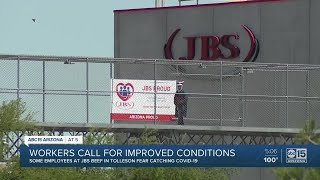 Workers call for closure of meatpacking plant to avoid COVID-19