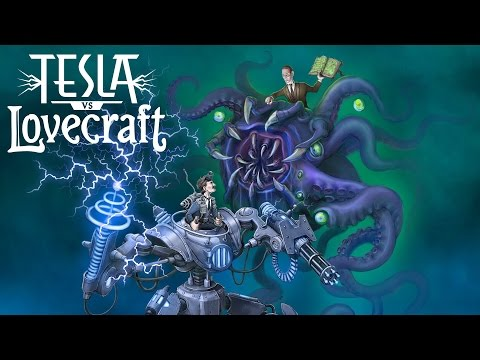 Tesla vs Lovecraft Steam Greenlight Trailer thumbnail