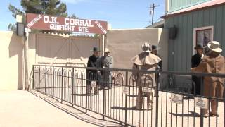 O.K Corral Gun Fight October 26 1881 Tombstone Arizona U.S.A