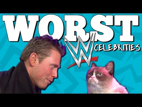 10 WORST WWE CELEBRITIES to Appear on WWE TV