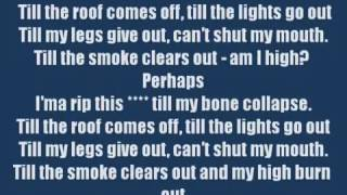 Till I Collapse Lyrics Clean)