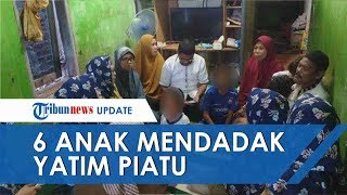 6 Bocah di Balikpapan Jadi Yatim Piatu Setelah Ayahnya Meninggal ketika Jenazah Istrinya Dimandikan