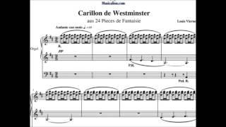 Carillon De Westminster De Louis Vierne