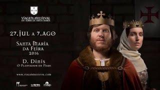 Momentos da apresentação da 20ª edição da Viagem Medieval, no Castelo da Feira
