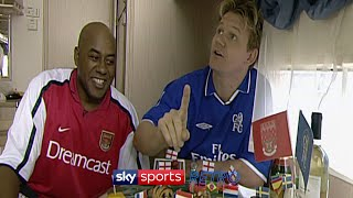 Gordon Ramsay & Ainsley Harriott assess the 2002 FA Cup Final between Arsenal & Chelsea with food