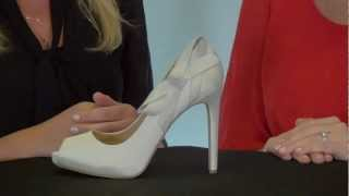 Wedding Shoe Review For Oliver By Badgley Mischka