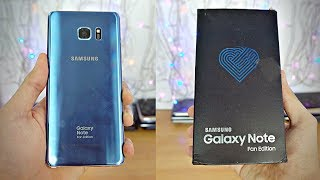 Samsung Galaxy NOTE FE - Unboxing & First Look! (4K)