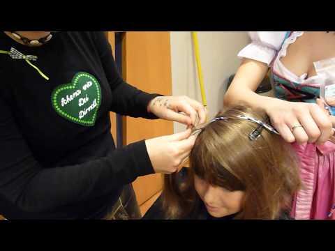 Volksfest Pfaffenhofen 2010 Jana-Maria beim Friseur
