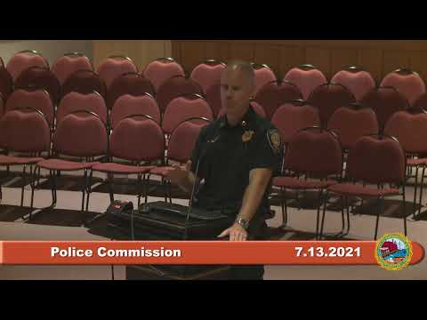 Police Commission 7.13.2021