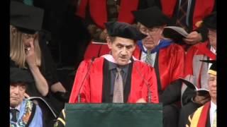 Victoria University Graduation December 2011 - Honorary Doctorate Dr Takirirangi Clarence Smith