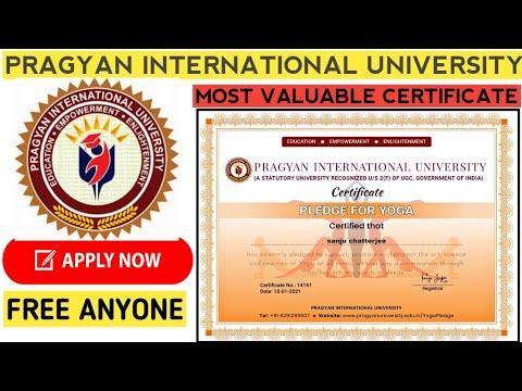 Free International Yoga Certificate | Free International Certificate ...