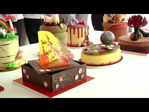 Regenbogen und Cappuccino-Tasse: Ausgefallenen Torten auf der Handwerksmesse