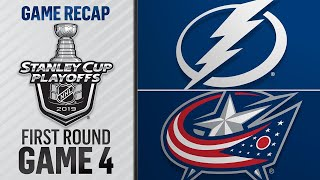 Blue Jackets Complete Stunning Sweep Of Lightning