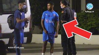 شاهد ردة فعل أوناجم وبنشرقي بعد الفوز أمام لاعبي الرجاء داخل مركب محمد الخامس