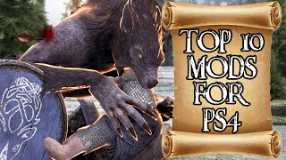 Top TEN Mods Of The Month for Skyrim on PS4 #12