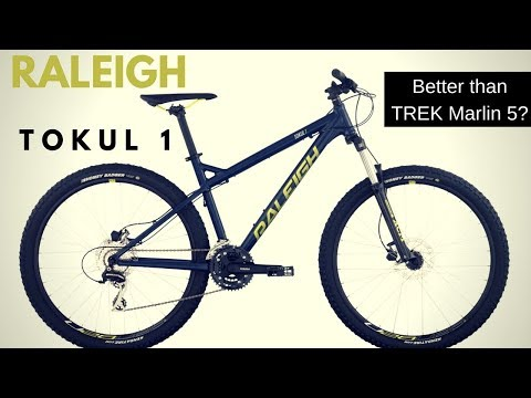 Raleigh Tokul 1 Mountain bike – Is it a better value than the Trek Marlin 5?