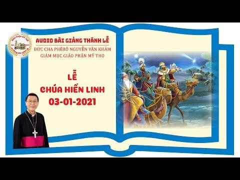 Đức Cha Phêrô suy niệm: LỄ CHÚA HIỂN LINH