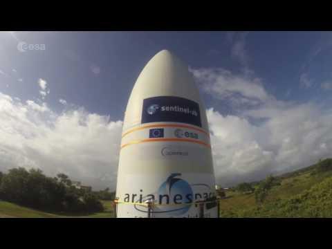 Så förbereds en satellituppsändning