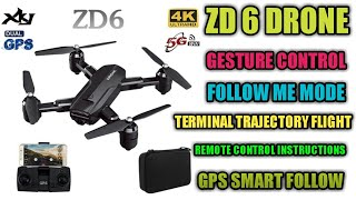 ZD6 drone | Wi-Fi FPV quadcopter | drones of modern technology