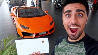 LAMBORGHINI SURPRISE !!!