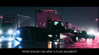 What to do After a Truck or 18-Wheeler Accident