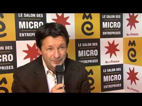 Denis Jacquet au Salon des micro-entreprises 2012