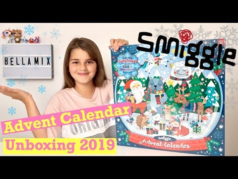 NEW 2019 Smiggle Christmas Advent Calendar Unboxing | Spoiler Full Contents Revealed | Bella Mix