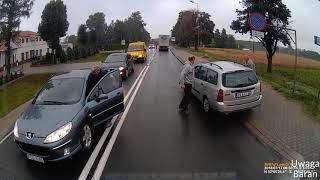 Polskie Ulice #97 Wypadki, Wymuszenia , Pijani Kierowcy , Chamstwo.