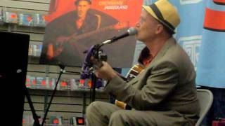 Marshall Crenshaw solo in J&R Music World - There She Goes Again