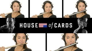 House of Cards Theme on Flute + Sheet Music!