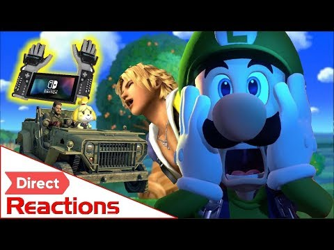 Nintendo Direct 9.13.18 Reaction Highlights (Smash, Animal Crossing, Luigi's Mansion 3) (видео)