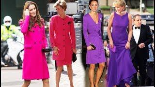 Кейт Миддлтон одевается как принцесса Диана